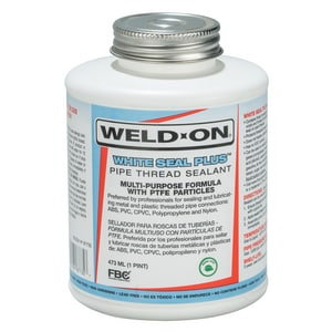 Weld-On White Seal™ Pipe Joint Compound in White I87735