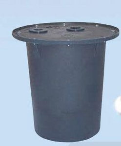 AK Industries 22 in. Radon Sump Basin APB18X22SPGT
