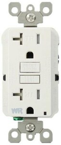 Leviton 20A GFCI Weather and Tamper Resistant Receptacle LWT899