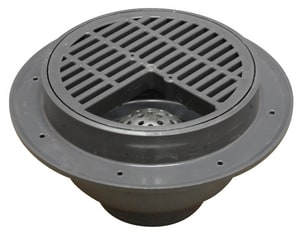 Sioux Chief Fat Max™ 3/4 in. PVC Drain with Grate S8603P3L