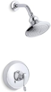 Kohler Revival® Pressure Balance Shower Faucet Trim with Single Lever Handle KT16114-4