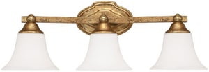 Capital Lighting Fixture Blakely 75W 3-Light Vanity Fixture C8523114