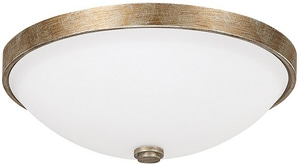 Capital Lighting Fixture 14-3/4 in. 3-Light Ceiling Fixture C2325SW