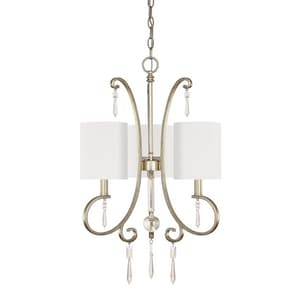Capital Lighting Fixture Simone 60W 3-Light Candelabra Incandescent Chandelier C4463565CR