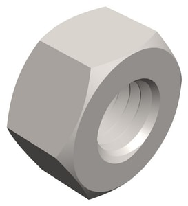PROSELECT® 1/4 in. Heavy Hex Zinc Nut 100 Pack PS000335
