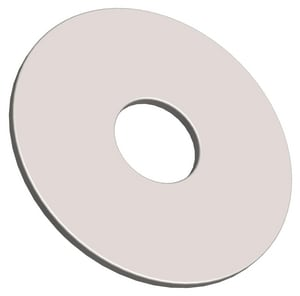 PROSELECT® Zinc Plated Carbon Steel Fender Washer PS000825