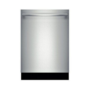 Bosch 6-Cycle 6-Option Fully Integrated Deluxe Dishwasher in Stainless Steel BSHX68TL5UC