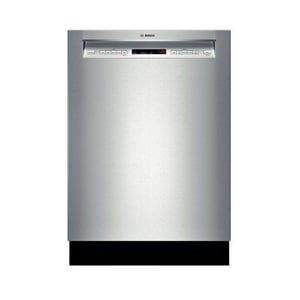 Bosch 24 in. Recessed Handle Dishwasher in Stainless Steel BSHE65T55UC