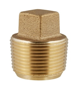 Ford Meter Box CC Taper Threaded Brass Corporation Stop Plug FCSPANL