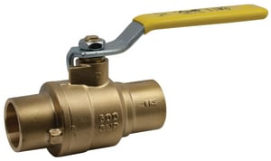 Apollo Conbraco 600 psi CWP Solder Brass Full Port Ball Valve with Standard Configuration A77F2001