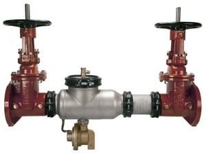 Wilkins Regulator 375ASTR Epoxy Coated Stainless Steel Flanged 175 psi Backflow Preventer W375ASTRNRSA