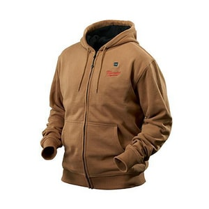 Milwaukee M12™ L Size 12 V Heated Hoodie in Khaki M2375L