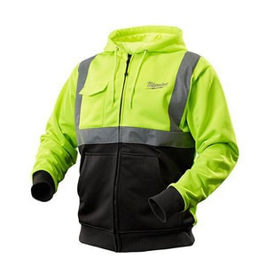 Milwaukee M12™ High Visibility Heated Hoodie Kit in Yellow M2377
