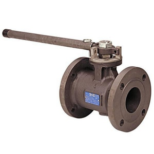 Nibco Carbon Steel Flanged Glass Filled Fire Safe Ball Valve with PTFE Seat NF510CSR66FS