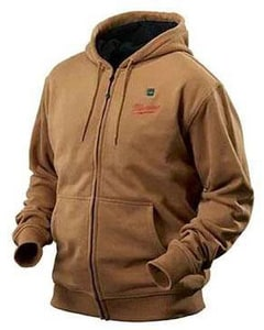 Milwaukee M12™ XL Size 12 V Heated Hoodie in Khaki M2375XL