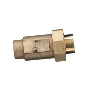 Wilkins Regulator FNPT Dual Check Valve Union WUFXF700XL