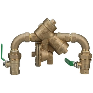Wilkins Regulator 975XL2 Cast Bronze Threaded 175 psi Backflow Preventer W975XL2SEU