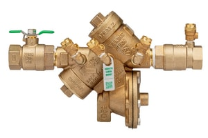 Wilkins Regulator Threaded Cast Bronze Reduced Pressure Principle Assembly with Lever Handle W975XL2TCU