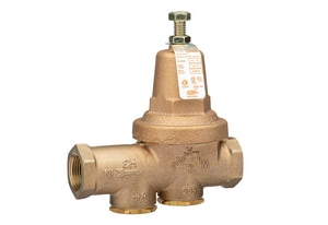 Wilkins Regulator Model 600XL 300 psi Cast Bronze FNPT x FIP Pressure Reducing Valve W600XLLU