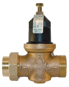 Wilkins Regulator CPVC Union x FNPT Pressure Reducing Valve WNR3XLCPVC