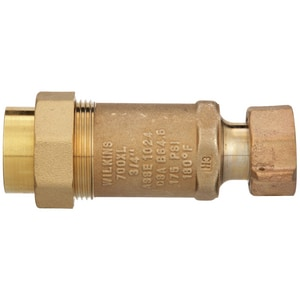 Wilkins Regulator Union Female Meter x FNPT Union Backflow Preventer WUFMXUF700XLG