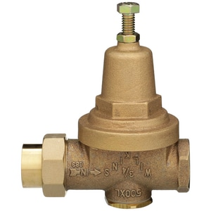 Wilkins Regulator 300 psi FNPT Cast Bronze Pressure Reducing Valve W500XLHLR