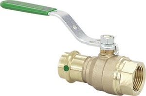 Viega North America ProPress® Bronze Press by Female Ball Valve V799