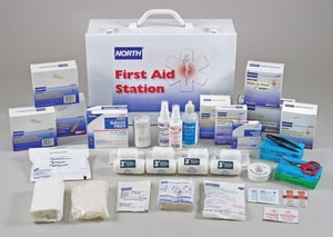 North Safety Products 100-Person Plastic Bulk First Aid Kit N0197200009L