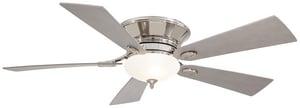 Minka-Aire Delano® II 5-Blade Ceiling Fan with Halogen Light MF711
