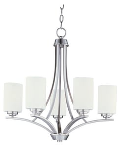 Maxim Lighting International Deven 60W 5-Light Chandelier M20035SW