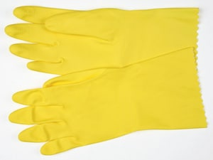 Memphis Glove Lined Glove in Yellow M52P