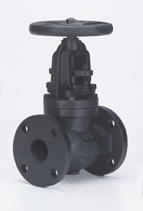 Milwaukee Valve 14 in. 125# Cast Iron Flanged Globe Valve MF2981MU