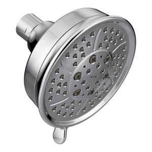 Moen 2 gpm 4-Function Wall Mount Showerhead M3638EP