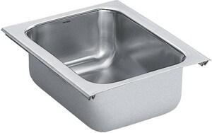 Moen 1800 Series Undermount Bar Sink in Stainless Steel MG18450