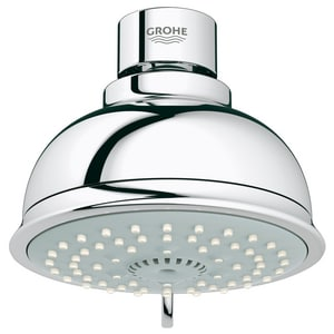 Grohe Tempesta Polished Chrome Showerhead G2604
