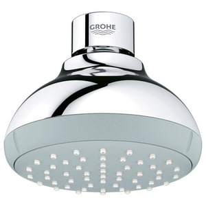 Grohe Tempesta 1.75 gpm Showerhead in Starlight Polished Chrome G26079000