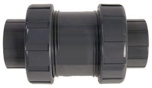 Hayward Industrial Products TC Series 1-1/4 in. PVC Socket x Threaded Check Valve HTC10125ST at Pollardwater