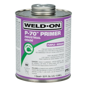 Weld-On PVC Purple Primer I10223