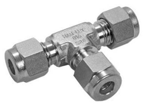 Ham-Let Valves & Fittings OD 316L Stainless Steel Union Tee H764LSS