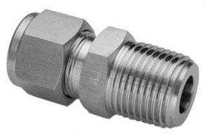 Male Threaded 316L Stainless Steel Adapter H768LSS