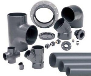 Dura Plastic 2-1/2 in. MIPT Straight Schedule 80 PVC Nipple P80NL