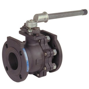 Nibco Carbon Steel Flanged Fire Safe Ball Valve with Lever Handle NF515CSF66FS