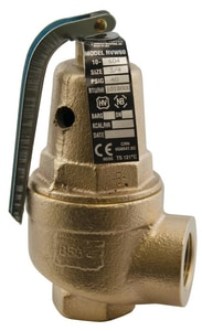 1 x 1-1/4 in. FNPT Bronze Relief Valve A10615