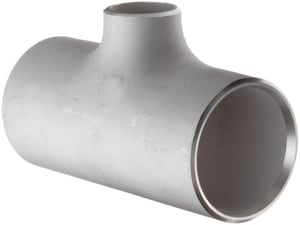Frischkorn Schedule 10 316L Stainless Steel Weld Bell End Tee IS16LWT