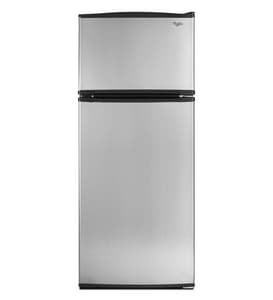 Whirlpool 17.6 CF 30-3/8 in. Top-Freezer Refrigerator WW8RXNGMB