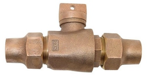 Legend Valve & Fitting 3/4 in. Flared Curb Stop L314104NL