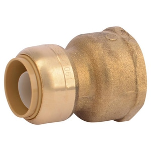 Sharkbite 3/4 x 1 in. Push Brass Adapter SU086LF