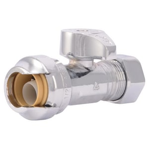 Push x Compression Straight Supply Stop Valve SHA23490