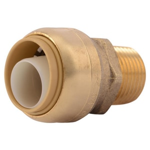 Push Brass Adapter SU13LF