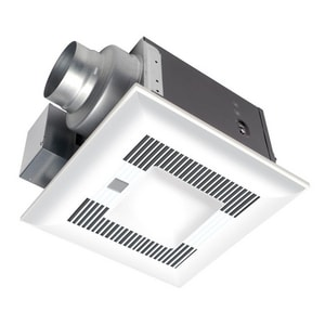 Panasonic Ceiling Mounted Ventilation Fan-Light with Dual Motion and Humidity Sensor 80 CFM PANFV08VQCL6